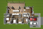 Fitzroy 4 Bed Single Level Family Home Design